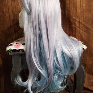 new [custom dyed] pastel lace part wig